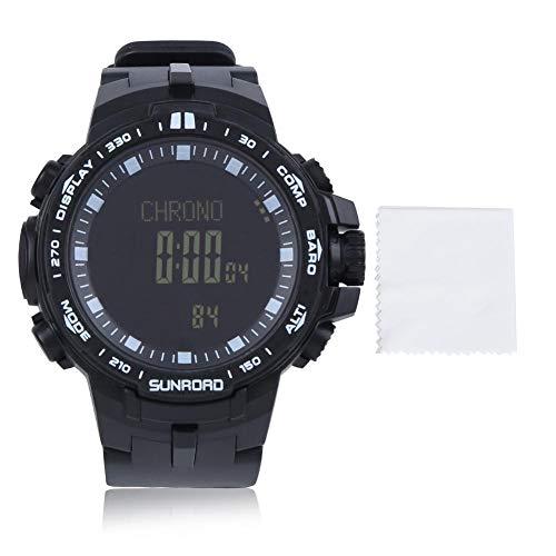 tongzhou Reloj Deportivo a Prueba de Agua 5ATM, recordatorio de Alarma multifunción,...