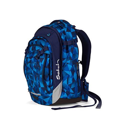 satch Match, Blue Crush ergonomischer Schulrucksack, erweiterbar auf 35 Liter, extra...