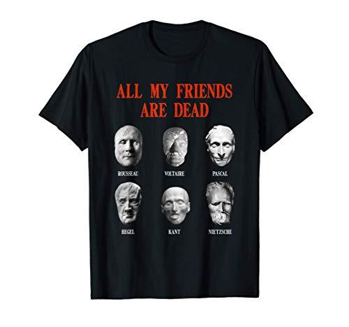 Todos mis amigos están muertos - Máscaras de la muerte Camiseta