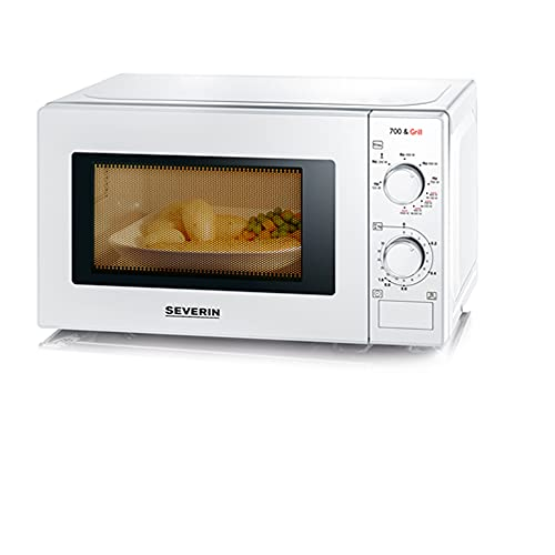 SEVERIN 2-in-1 Mikrowelle mit Grill 700...