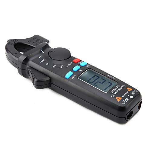 Pinza amperimétrica alta, duradera de usar, pinza amperimétrica digital, posición de toma de optimización V- Alerta Alarma de voltaje peligroso para prueba de continuidad de resistencia