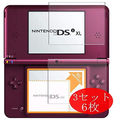 VacFun 4 Piezas HD Claro Protector de Pantalla para Nintendo DSI XL, Screen Protector Sin Burbujas Película Protectora (Not Cristal Templado) Nueva versión