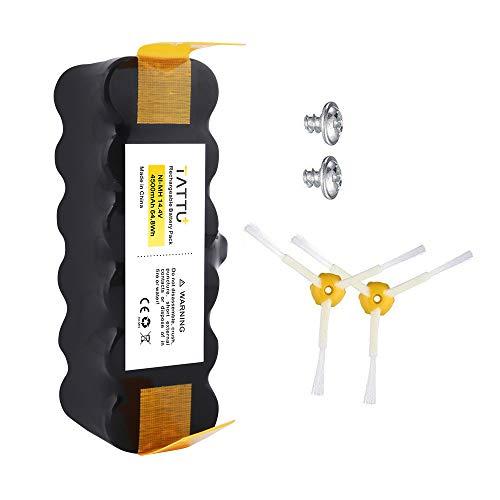 TATTU 4500mAh XLife Extended Life Replacement Battery for iRobot Roomba R3 500 600 700 800 900 Series 530 531 532 535 536 540 550 552 560 562 570 580 595 620 630 650 660 760 770 780 790 870 880 980