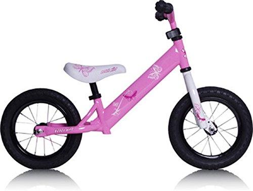 Rebel Kidz Air - Bicicleta de Aprendizaje para niña, Color Rosa, Talla única