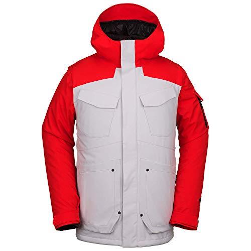 Volcom Men's VCO Inferno Insulated 2 Layer Stretch Snow Jacket, Camouflage, Medium