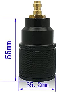 JDMY New Airforce Condor Talon Constant Valve PCP CO2 High Pressure Refill/Recharge Adapter with 8mm Fill Head