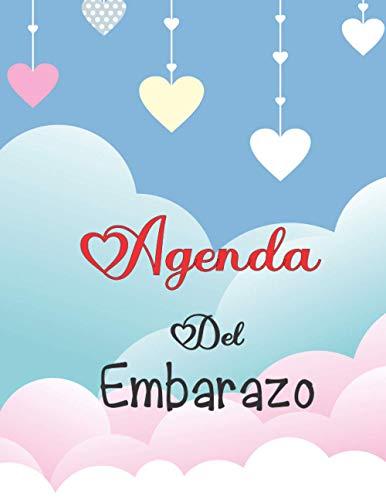 Agenda Del Embarazo: Diario de Embarazo | el cuaderno de seguimiento de la mujer embarazada para ser rellenado | Regalos para mamas embarazadas