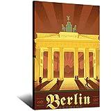 ASFGH Deutschland Berlin Brandenburger Tor Vintage Poster
