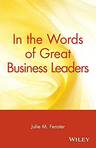 In the Words of Great Business Leaders