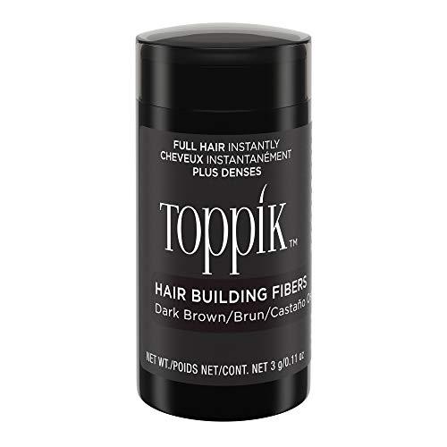 Toppik Hair Building Fibers, Dark Brown, 0.11 oz