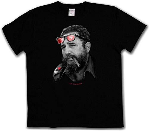 EL Caballo T-Shirt - Cuba Guerilla RAF Che Guevara Hero Fidel Castro Communism