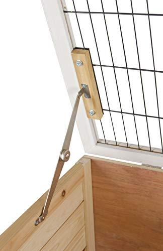Kerbl 81703 Kleintierkäfig Indoor Deluxe Doppelstöckig, 115 x 60 x 118 cm - 7