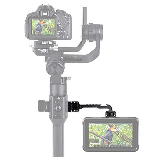 """HAFOKO DH11 Placa de Extensión Compatible para dji Ronin S Adaptador de Montaje de Monitor 1/4""""Adaptador Zapata Fría Video Soporte Brazo Soporte Accesorios para Micrófono Luz Video LED"""