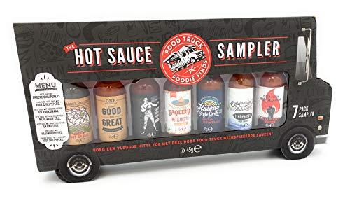 treet Food Saucen Geschenkset - Food Truck Weihnachtsset Mit 7 Würzigen Fleisch- und Grillsaucen