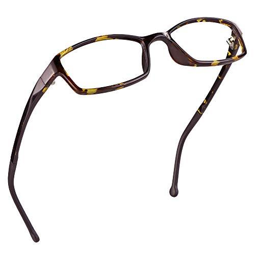 LifeArt Kid Blue Light Blocking Glasses, Filter 85% of Harmful Blue Light, Anti Eyestrain and Blurry, Computer Glasses(Tortoise)