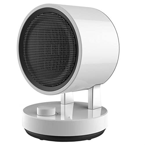 WGLL Calentador eléctrico 1500W,Ventilador del Calentador de Silencio,Calentador de Espacio Personal portátil de Invierno,termostato Ajustable Fondo Caliente Caliente for la Oficina en casa