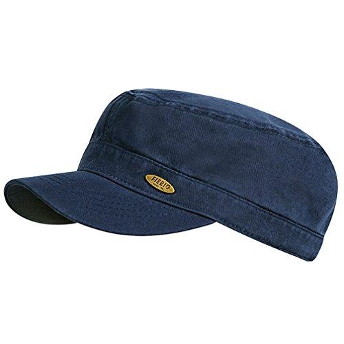 Fiebig - Herren & Damen - Basecap Kubacap Armycap - UV-Schutz 50+ - 47312 (57, Blau)