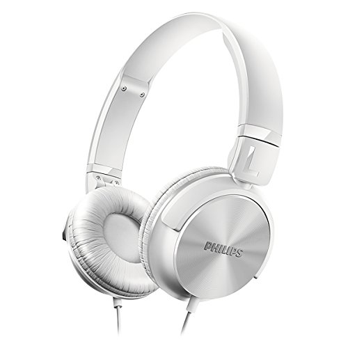 Philips SHL3060WT/27 - Kopfhörer (Ohrumschließend, Kopfband, Verkabelt, 10-22000 Hz, 1,2 m, Weiß)