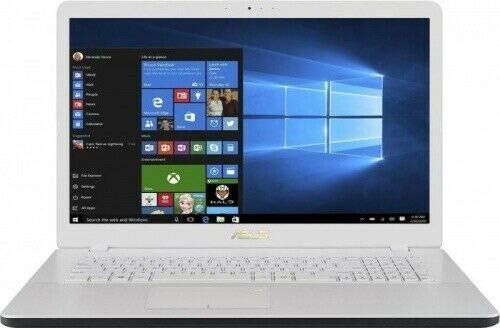 Asus Notebook (17,3 Zoll HD), Intel Dual Core 4417U, 2 x 2,30 GHz, 4 GB DDR4 RAM, 500 GB HDD, HDMI, Intel HD Grafik, Webcam, Windows 10 Pro