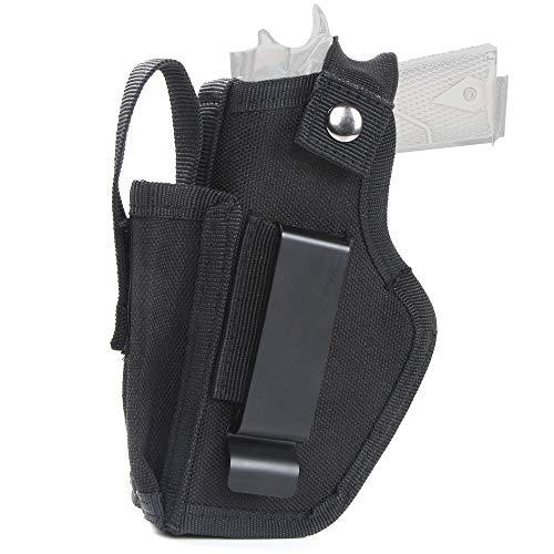 REAWOW Hidden Carry Belt Holster Holster für die Linke und rechte Hand Universal Outdoor Tactics Geeignet für die Jagd auf große, mittlere und kleine Pistolen Glock 19/17/43 Holster
