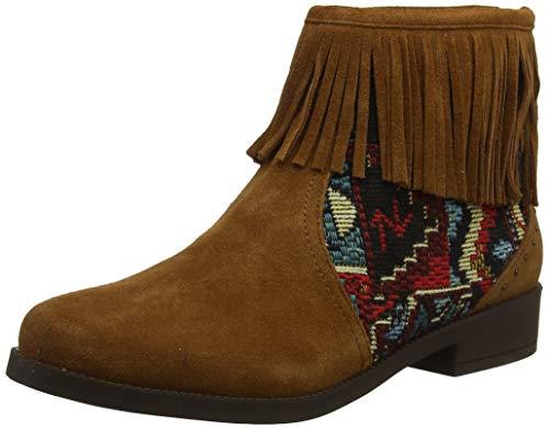 Desigual Damen Shoes Ottawa Tapestry Stiefeletten, Braun (Chocolate 6053), 38 EU