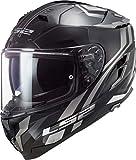LS2 1032738083XL - Casco de moto Full Face FF327 Challenger