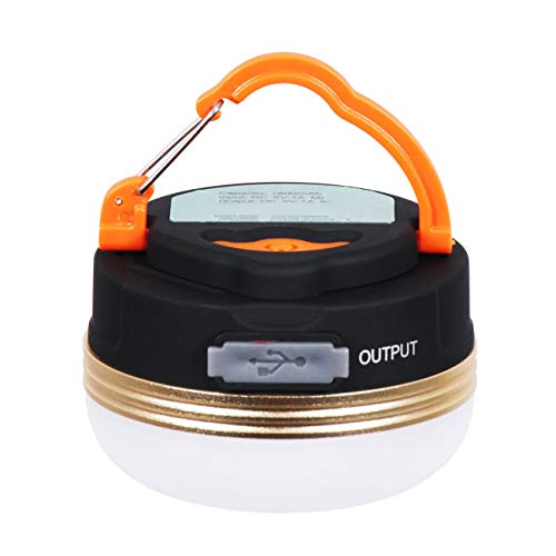 LED Lantern Camping Light Outdoor Flashlight Warm White USB Rechargeable...