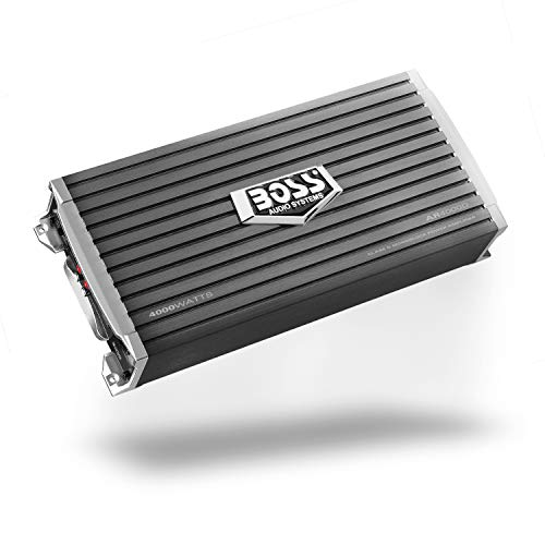 BOSS Audio Systems AR4000D Class D Car Amplifier - 4000 Watts, 1 Ohm Stable, Digital, Monoblock, Mosfet Power Supply, Great for Car Subwoofers