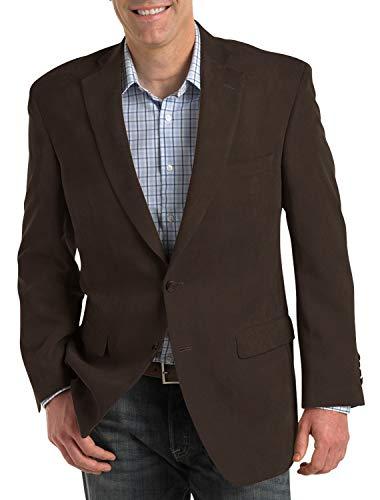 Adam Baker by Douglas & Grahame Men's 43112 Single Breasted 100% Wool Ultra Slim Fit Blazer/Sport Coat - Charcoal - 42L