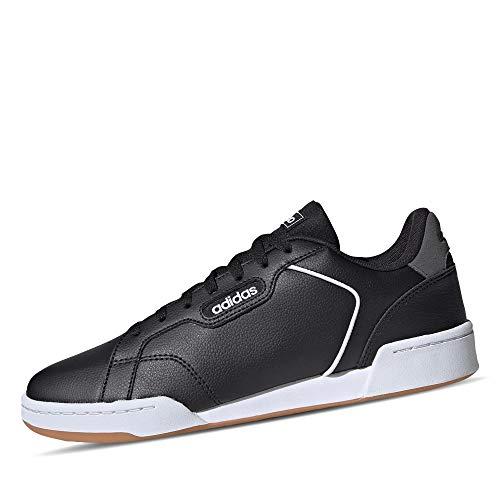 adidas Herren ROGUERA Cross Trainingsschuhe, Negbás/Negbás/Ftwbla, 45 1/3 EU