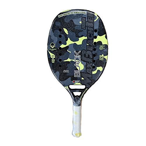 Max Beach Tennis MBT Raqueta Beach Tennis Racket Black 2021