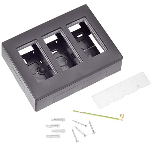 Simon 51000003-038 - Caja Superfície 3 Módulos Grafito