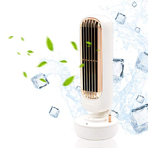 Portable USB Humidifier Quiet Small Humidifier Mini Humidifier Timed Spray Humidifiers for Office, Desk, Bedroom
