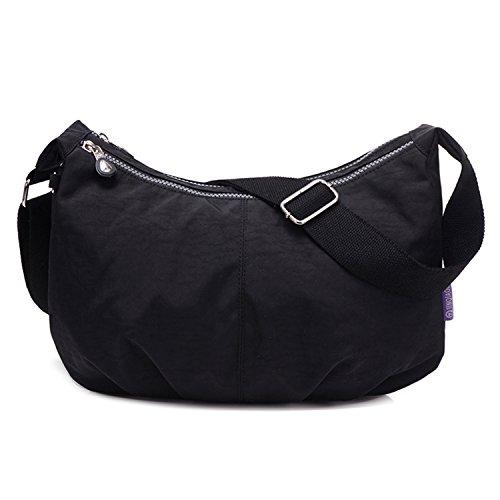 Outreo Borsa Tracolla Impermeabile Borse a Spalla Casuale Borse da Moda Ragazze Leggero Borsello Donna Sacchetto Viaggio Borsetta Sport Bag