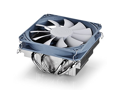 Deepcool Gabriel Dissipatore per CPU Intel e Amd 4 Heatpipes Ventola PWM da 120mm Ultrasottile