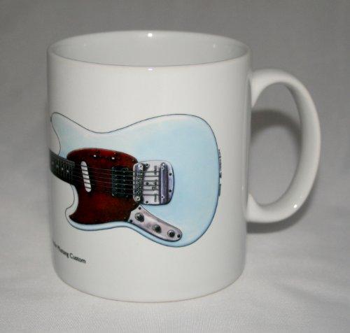 Gitarre-Becher. Kurt Cobain's Fender Mustang Custom Abbildung.