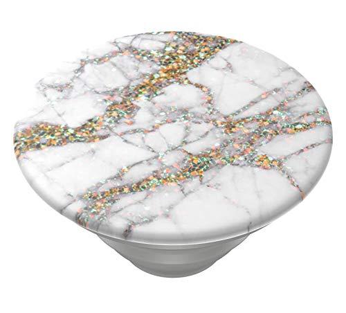 PopSockets PopTop - Austauschbaren Top für Deinen Austauschbaren PopGrip - Gold Sparkle Marble