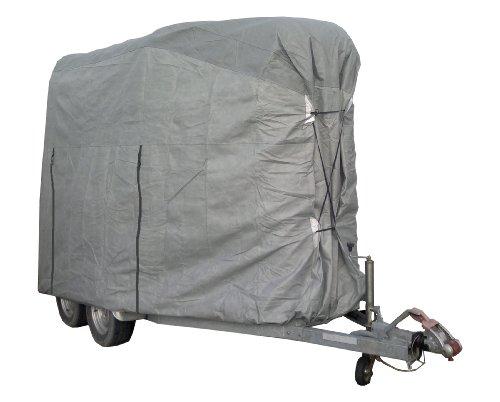 Car-e-Cover, Pferdeanhänger - Abdeckplane zum Schutz im Aussenbereich für Zweipferdeanhänger