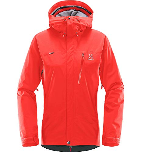 Haglöfs Astral Chaqueta, Mujer, Real Red, S