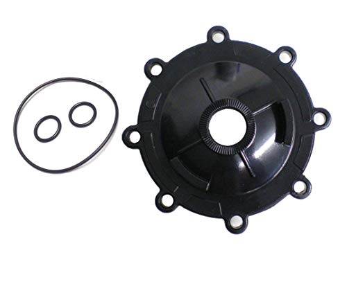 ATIE Neverlube Valve Cap 4606 with Valve O-Ring 1132 and Shaft O-Ring R0487100 Replacement for Zodiac Jandy 3-Way Valve Neverlube Valve Cover 4606