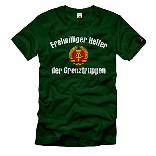 Copytec Freiwilliger Helfer der Grenztruppen DDR Ost-Deutschland Deutsche Emblem #34083, Größe:XXL, Farbe:Grün