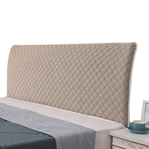 ZWDM Bed HeadboardPolyester Fiber Elasticity Stretch All-Inclusive Backrest Slip for Headboards Bedroom Decor Washable (Color : Pink, Size : 1.2x65cm)