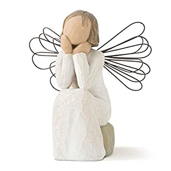 Willow Tree Angel of Caring Sculpted Hand-Painted Figure