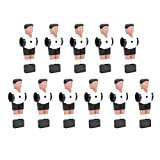 Vbest life Juego de Jugadores de fútbol de Mesa para Hombres, 11 Piezas de futbolín de Mesa, muñecas de Repuesto para Jugadores, Juegos de...