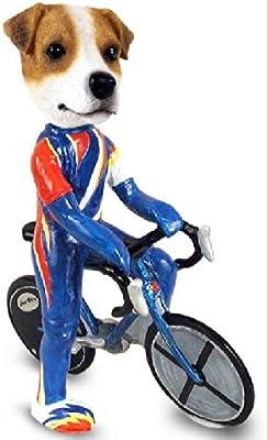 Amazon.com: Jack Russell Terrier blanco y negro perchero de ...