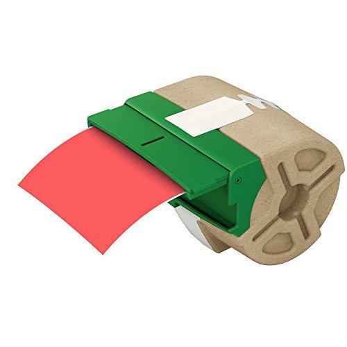 Leitz, Intelligente Endlos-Plastik-Etikettenkartusche, 88 mm Breite, 10 m Länge, Rot, 70160025