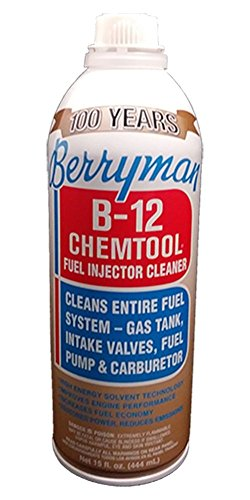 Berryman Products 0116 B-12 Chemtool Carburetor, Fuel System and Injector Cleaner, 15 Ounce, (Single Unit)