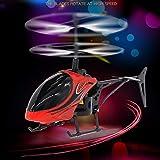 Hubschrauber Drohnenhubschrauber Drohne Flying Hubschrauber Mini RC Infraed Induktionshubschrauber...