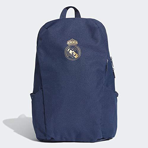adidas REAL ID BP Sports Backpack, Night Indigo/Dark Football Gold, NS