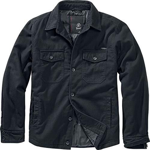 Brandit Lumberjacket Übergangsjacke schwarz L